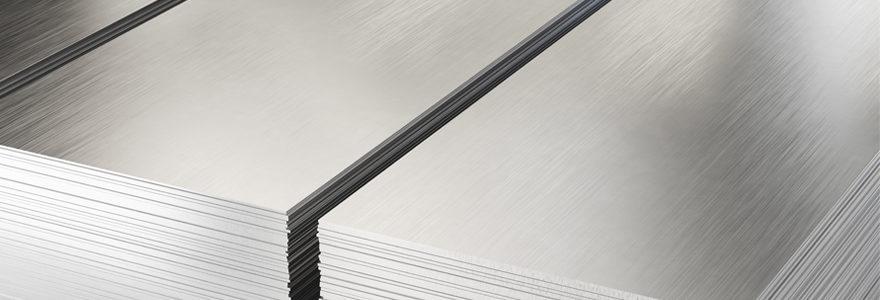 plaque aluminium